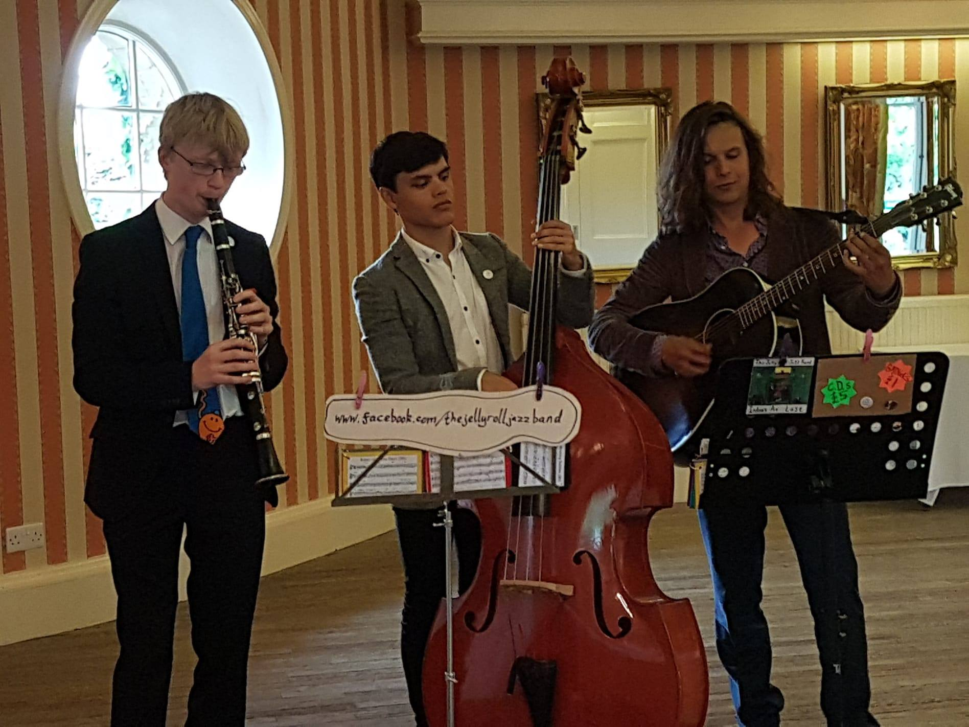 The Jelly Roll Jazz Band performing in Best Western Forest & Vale Hotel, Pickering, 2018
